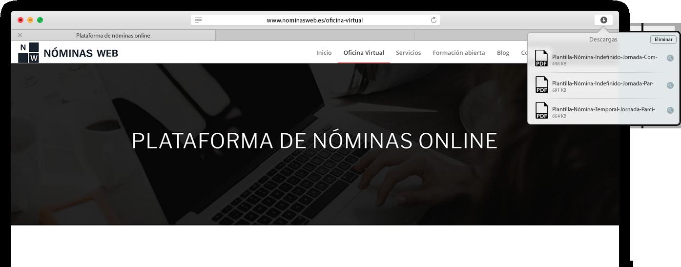 plataforma de nóminas online